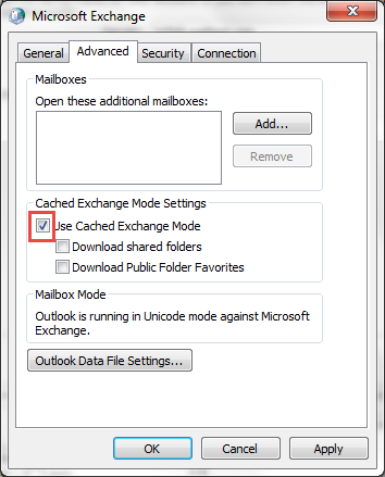 settings to fix errors have been detected in outlook.ost file